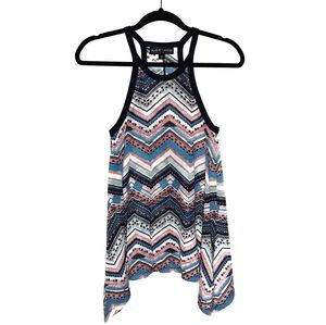 Almost Famous Knit Halter Tank Top